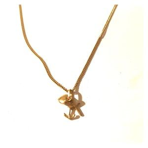 Jewelry - Heart Anchor Cross Charm Necklace
